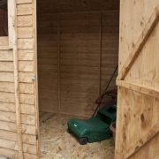 10ft-x-6ft-Overlap-Pent-Wooden-Flat-Roof-Storage-Shed-Brand-New-10x6-Wood-Sheds-MAINLAND-UK-DELIVERY-ONLY-0-2