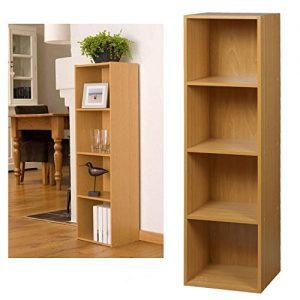 4-Tier-Wooden-Bookcase-Storage-Shelving-Unit-0