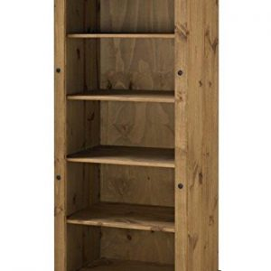 Mercers-Furniture-Corona-Bookcase-Wood-Antique-Pine-Large-0