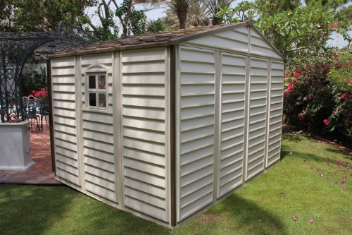 Woodside 10 X 8 Vinyl Storage Shed With Foundation And
