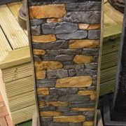 101cm-Tall-Stone-Wall-Effect-Garden-Water-Feature-with-LED-light-0-0