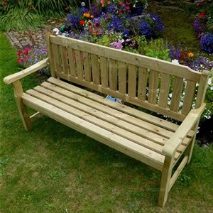 5ft-WIDE-3-SEATER-WOODEN-BENCH-PRESSURE-TREATED-FAST-DELIVERY-0