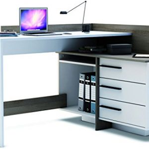 Brand-New-Modern-Corner-3-Drawer-Dark-Office-DeskTable-Thales-0