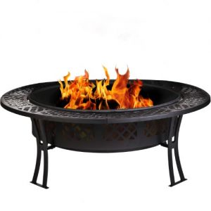 CobraCo-FB8008-Diamond-Mesh-Fire-Pit-with-Screen-and-Cover-0