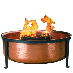 CobraCo-Hand-Hammered-with-Copper-Fire-Pit-Tub-0