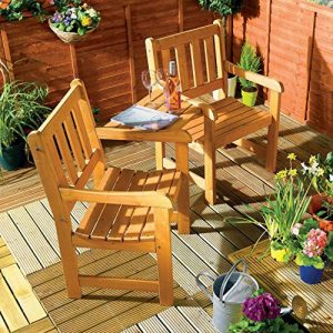 Companion-Garden-Bench-Corner-Love-Seat-Jack-and-Jill-Tete-a-Tete-Set-0