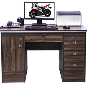 Computer-Desk-PC-TableCorner-Computer-Desk-With-3-Locks-For-Home-OfficeTableWorkstation-in-Walnut-Clr-617113-0