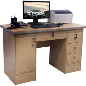 Computer-Desk-in-Black-Beech-White-Walnut-Oak-With-3-Locks-4-Home-Office-0