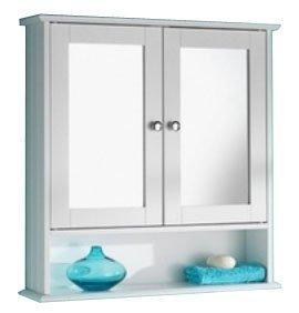 Double-Door-Bathroom-Mirror-Cabinets-White-Cream-OAK-0