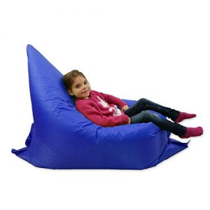 Kids-BeanBag-Large-6-Way-Garden-Lounger-GIANT-Childrens-Bean-Bags-Outdoor-Floor-Cushion-BLUE-100-Water-Resistant-0