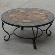 Villa-Beacon-35-inch-Diam-Natural-Slate-Coffee-Table-with-Fire-Pit-BBQ-Grid-Safety-Mesh-Weather-Cover-0-0