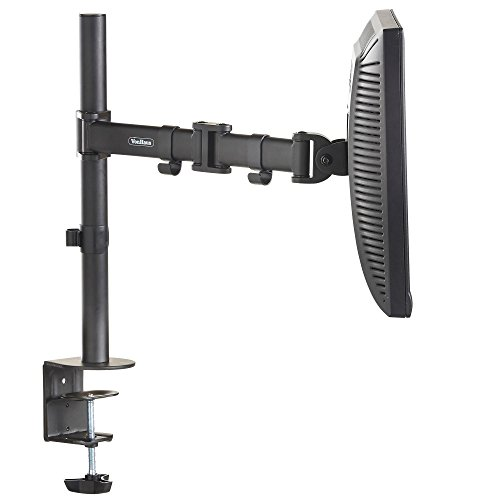 Vonhaus Single Arm Lcd Led Monitor Desk Mount Bracket For 13 Quot 27 Quot Screens With 177 45