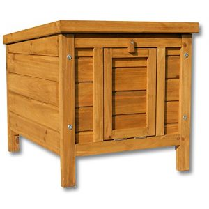 Wooden-Rabbit-Hutch-Pet-Outdoor-Enclosure-Doghouse-Small-Animal-Hutch-0