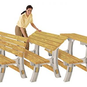 Wooden-Table-Bench-Flip-Top-Bench-any-size-just-add-your-CLS-2x4-Timber-0