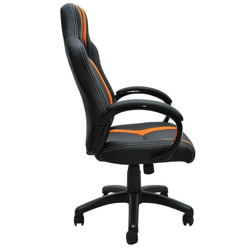 eMarkooz TM Swivel desk chair executive office chair  : eMarkooz TM Swivel desk chair executive office chair racing gaming chair padded Computer PC chairs adjustable height armchair 0 2 from houseandgardenstore.co.uk size 500 x 500 jpeg 22kB