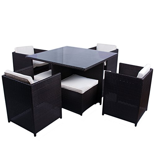 clearance sale furniture rattan garden furniture set table