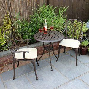 Bentley-Garden-Furniture-3-Piece-Cast-Aluminium-Bistro-Set-Table-2-Arm-Chairs-0
