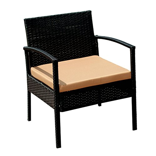 Ebs outdoor rattan garden furniture patio conservatory for Patio table and chairs sale
