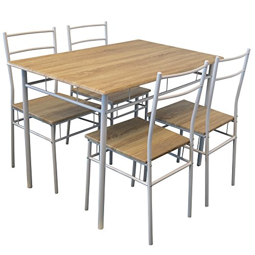 dining tables and chairs harbour housewares 5 piece kitchen dining