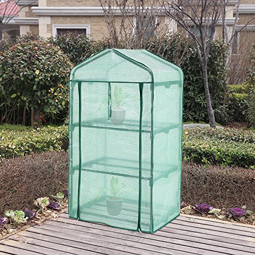 Songmics mini greenhouse grow house gwp house and garden for Better homes and gardens greenhouse