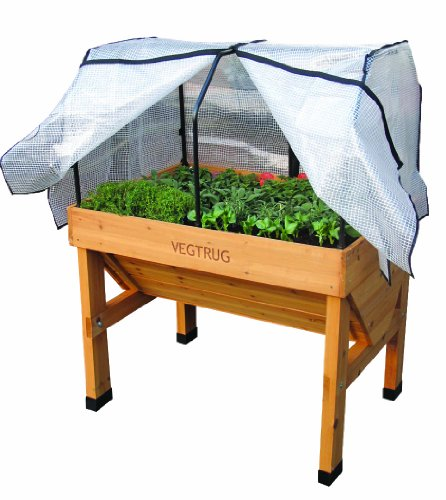 Vegtrug-SGFP1136-Small-Green-House-Frame-and-PE-Cover-White-0