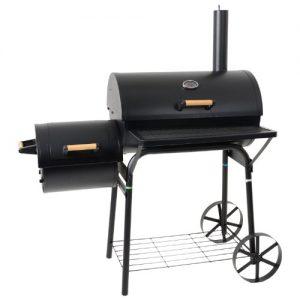 Azuma-BARREL-OR-SMOKER-Charcoal-BBQ-Barbecue-Garden-Outdoor-Cooking-Grill-0