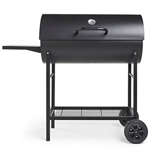Vonhaus Charcoal Barrel Bbq Amp Smoker With Temperature