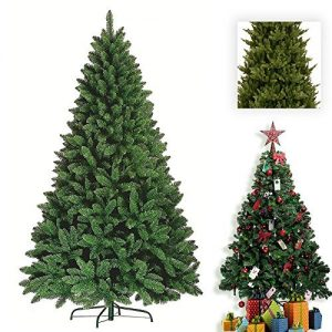 Premium-Green-Artificial-Christmas-Xmas-Tree-Pine-Metal-Stand-Tips-Spruce-6FT-180cm18m-700-Tips-0