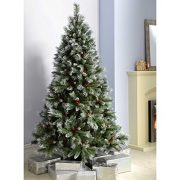 WeRChristmas-Scandinavian-Blue-Spruce-Christmas-Tree-includes-Pine-Cones-and-Berries-with-Easy-Build-Hinged-Branches-0-0