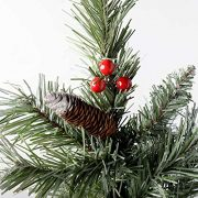 WeRChristmas-Scandinavian-Blue-Spruce-Christmas-Tree-includes-Pine-Cones-and-Berries-with-Easy-Build-Hinged-Branches-0-2
