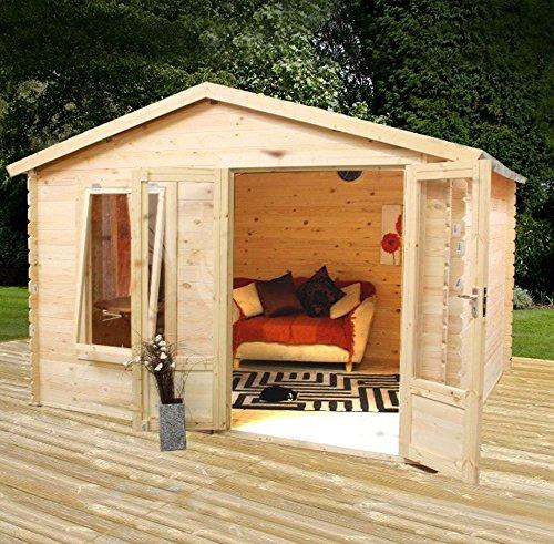 27m-x-33-Standard-Wooden-Log-Cabin-Studio-Garden-Home-Office-Craft-Room-Home-Gym-By-Waltons-0-0