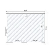 27m-x-33-Standard-Wooden-Log-Cabin-Studio-Garden-Home-Office-Craft-Room-Home-Gym-By-Waltons-0-6