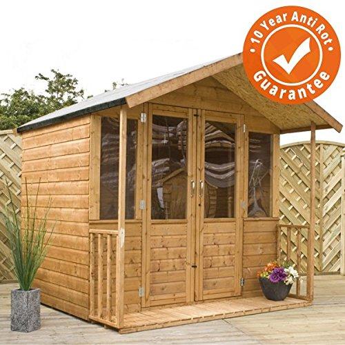 7x7 Bournemouth Wooden Summerhouse