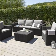 Allibert-California-3-Seater-Sofa-Graphite-with-Grey-cushions-0-1