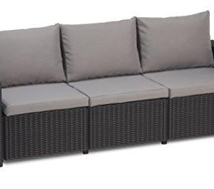 Allibert-California-3-Seater-Sofa-Graphite-with-Grey-cushions-0