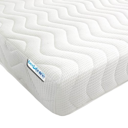 Bedzonline Memory Foam And Reflex 3 Zone Mattress With 1