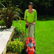 Black-Decker-1200W-Edge-Max-Lawn-Mower-with-32cm-Cut-35L-Box-0-0