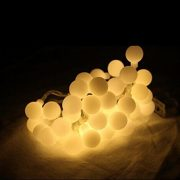 Dailyart-13feet4m-Waterproof-IP44-Long-Globe-String-Light-Starry-Light-for-Gardens-Homes-Wedding-Christmas-Party-Battery-powered-Beige-0-0