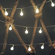 Dailyart-13feet4m-Waterproof-IP44-Long-Globe-String-Light-Starry-Light-for-Gardens-Homes-Wedding-Christmas-Party-Battery-powered-Beige-0-1
