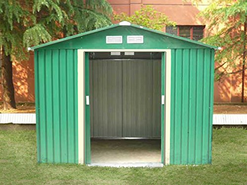 Dirty Pro Toolstm New Metal Garden Shed 8 X 6 With Free