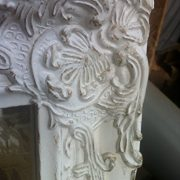 Distressed-Antique-French-Ornate-Style-White-Wall-Mirror-Shabby-Chic-0-0