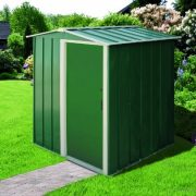 Duramax-5-x-4ft-Eco-Metal-Shed-with-OW-Trim-Green-0-0