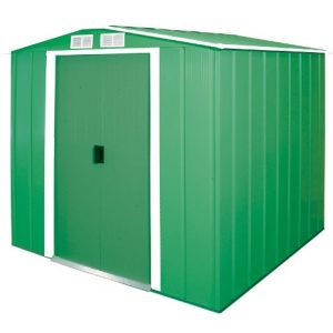 Duramax-6-x-6ft-Eco-Metal-Shed-with-OW-Trim-Green-0