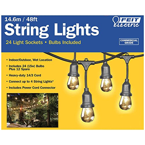 Feit 48ft 14 6m Indoor Outdoor Weatherproof String