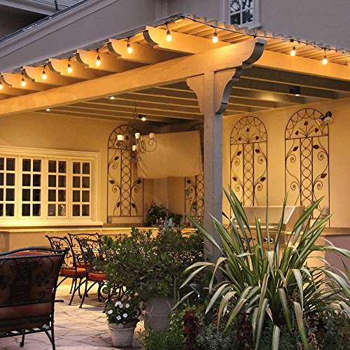 Solar Outdoor String Lights Costco: Feit 48ft (14.6m) Indoor/Outdoor Weatherproof String