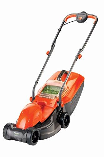 Flymo-FVISIMO-Visimo-Electric-Wheeled-Rotary-Lawn-Mower-Orange-0
