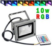 Goodia-Waterproof-10W-RGB-16-Color-Changing-Outdoor-Remote-Control-LED-Flood-Light-0-1