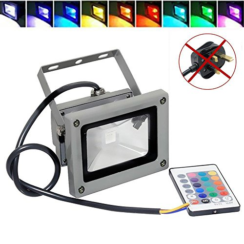 Goodia-Waterproof-10W-RGB-16-Color-Changing-Outdoor-Remote-Control-LED-Flood-Light-0