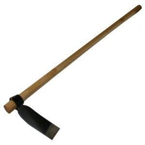 Harbour-Housewares-Full-Size-Azada-Digging-Hoe-120cm-Wooden-Handle-0