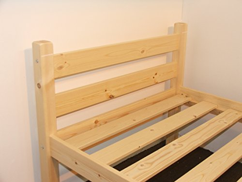 Heavy Duty Single 3ft Wooden Pine Bed Frame Can Be Used